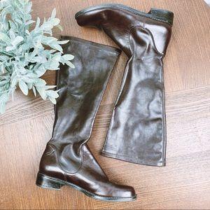Franco Sarto Dark Brown Boots